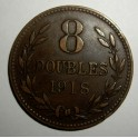 Guernsey - 1918H - 8 Doubles - VF