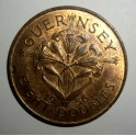 Guernsey - 1956 - 8 Doubles - GEF Good lustre