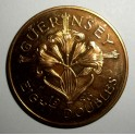 Guernsey - 1956 Proof - 8 Doubles - 2,100 minted