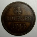 Guernsey - 1914H - 4 Doubles - NVF