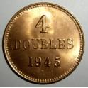 Guernsey - 1945H - 4 Doubles - BUNC