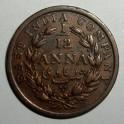 British India - 1848 - 1/12 Anna - VF