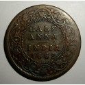 British India - 1862 - Half Anna - Fair