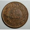 British India - 1887 - 1/12 Anna - EF Lustre traces