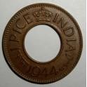 British India - 1944 - 1 Pice - NEF