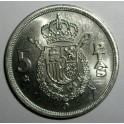Spain - 1975 (76) - 5 Pesetas - BUNC