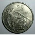 Spain - 1957 (69) - 25 Pesetas - EF