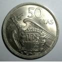 Spain - 1957 (58) - 50 Pesetas - EF