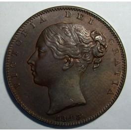 1843 Farthing - GEF (CG1843-VA-1-A)