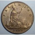 1890 Farthing - UNC 90% Lustre (CG1890-VB-1A)