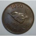 1950 Farthing - EF (CG1950-G6-2A)
