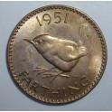 1951 Farthing - UNC (CG1951-G6-2A)