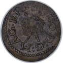 (1622 - 1623) James I Lennox Farthing Type 4 (Everson 46a)  Privy Mark - Dagger (CG Lennox)