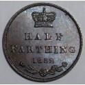 1852 Half Farthing - GEF - (FHCG1852-VA-1A)