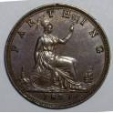 1879 Farthing - AUNC 40% Lustre (CG1879-VB-1A)