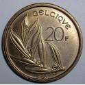 Belgium - 1980 - 20 Francs - AUNC