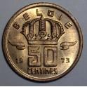 Belgium - 1973 - 50 Centimes - UNC