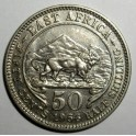 East Africa - 1956KN - 50 Cents - EF