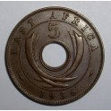 East Africa - 1936H - 5 Cents - NEF