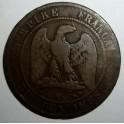 France - 1864 K - 10 Centimes - Fair