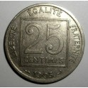 France - 1903 - 25 Centimes - VF+