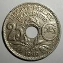 France - 1919 - 25 Centimes - GVF