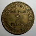 France - 1925 - 2 Francs - VF
