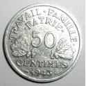 France - 1943 - 50 Centimes - EF