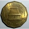 Fiji - 1961 - 3 Pence - AUNC Good lustre