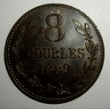 Guernsey - 1889 - 8 Doubles - GEF